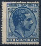 Stamps : Europe : Spain :  ESPAÑA 199 ALFONSO XII