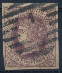 Stamps : Europe : Spain :  ESPAÑA 66 ISABEL II