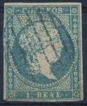 Stamps Spain -  ESPAÑA 45 ISABEL II