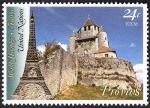 Stamps ONU -  FRANCIA - Provins, ciudad de ferias medieval