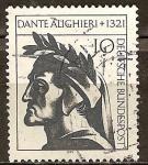 Sellos de Europa - Alemania -  650a Aniv de la muerte de Dante Alighieri.