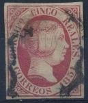 Stamps Spain -  ESPAÑA 9 ISABEL II