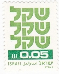 Stamps : Asia : Israel :  ALFABETO HEBREO