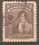 Stamps Venezuela -  DIEGO   URBANEJA
