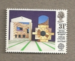 Stamps United Kingdom -  Arquitectos Británicos en Europa