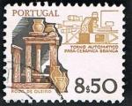 Sellos de Europa - Portugal -  TORNO AUTOMATICO PARA CERAMICA