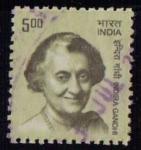 Sellos del Mundo : Asia : India : Indira Gandhi