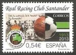 Sellos del Mundo : Europa : España : 4854 - Centº del Real Racing Club Santander