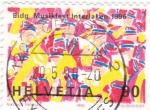 Sellos de Europa - Suiza -  FESTIVAL MUSICAL INTERLAKEN-1996