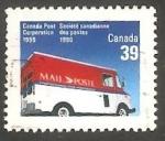 Sellos del Mundo : America : Canadá :  Furgón postal