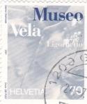Sellos de Europa - Suiza -  MUSEO VELA