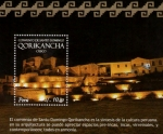 Stamps of the world : Peru :  Templo Qorikancha