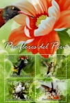 Stamps : America : Peru :  Picaflores del Perú