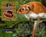 Stamps : America : Peru :  Fosil Roedor