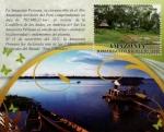 Stamps : America : Peru :  Amazonia