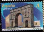 Stamps Spain -  ARCO ROMANO DE MEDINACELLI SORIA