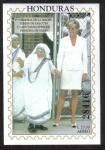 Sellos del Mundo : America : Honduras : En memoria de la Madre Teresa de Calcuta y Lady Diana Spenser Princesa de Gales