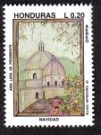 Stamps Honduras -  Navidad 93