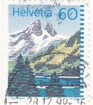 Stamps Switzerland -  PAISAJE ALPINO