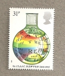 Sellos de Europa - Reino Unido -  Isaac Newton
