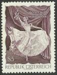 Stamps Austria -  El Danubio Azul de Johann Strauss