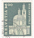 Stamps : Europe : Switzerland :  RIVA SAN VITALE