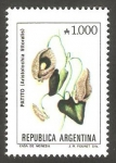 Sellos de America - Argentina -  1708  - Flor aristolochia littoralis