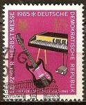 Sellos de Europa - Alemania -  Leipzig Feria de Primavera 1965(DDR).