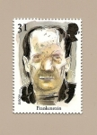 sellos de Europa - Reino Unido -  LITERATURA (Cuentos de Terror)  EUROPA  Frankenstein