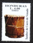 Sellos de America - Honduras -  Instrumentos Musicales Autóctonos Mesoamericanos
