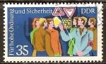 Sellos de Europa - Alemania -   Para la alta orden y la seguridad(DDR).
