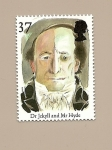 Stamps United Kingdom -  LITERATURA Cuentos de Terror Dr. Jekyll y Mr. Hyde