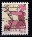 Sellos de Europa - Polonia -  Zodiaco