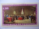 Sellos de America - Venezuela -  Sesquicentenario de la Declaración de Independencia 81811-1961)