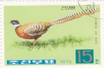 Stamps North Korea -  AVES