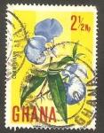Stamps : Africa : Ghana :  Flor