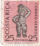 Stamps of the world : Costa Rica :  Correo aereo 25ct
