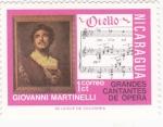 Stamps Nicaragua -  GIOVANNI MARTINELLI- CANTANTE DE OPERA
