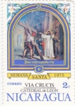 Stamps of the world : Nicaragua :  VIA CRUCIS, CATEDRAL DE LEÓN