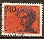 Sellos del Mundo : Europa : Alemania : Rosa Luxemburgo (1871-1919), político del movimiento obrero socialista.