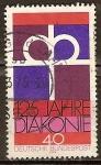 Sellos de Europa - Alemania -  125 años Diakonia.