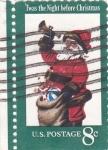 Sellos de America - Estados Unidos -  PAPA NÖEL- CHRISTMAS