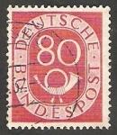 Stamps Germany -  23 - Corneta Postal
