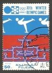 Stamps : Asia : United_Arab_Emirates :  Fujeira - Olimpiadas de invierno en Sapporo 72
