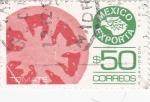 Stamps : America : Mexico :  MÉXICO EXPORTA- TOMATE