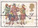 Stamps United Kingdom -  MÚSICOS EN LA CALLE