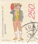 Stamps Portugal -  VENDEDOR DE AGUA -PROFESIONES DEL SIGLO XIX
