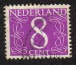 Stamps Netherlands -  Números