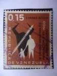 Sellos de America - Venezuela -  IX Censo General de Población y El III Agropecuario 1960