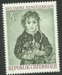 Stamps of the world : Austria :  Pintura